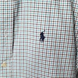Ralph Lauren Shirts & Tops - Ralph Lauren Plaid Cotton Poplin Button Down Shirt